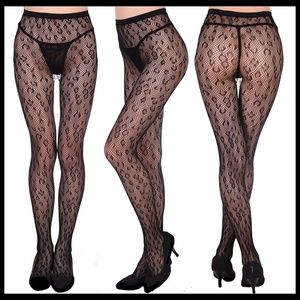 ❤️NEW Leopard Fishnet Stockings
